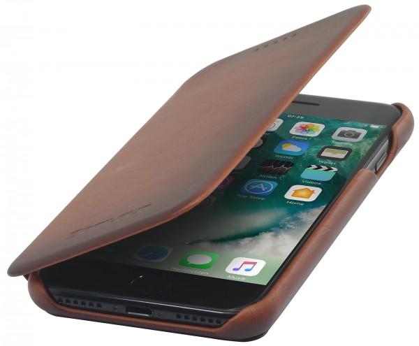 StilGut - iPhone 7 Cover Book Type with Card Holder