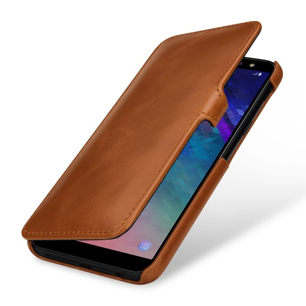 StilGut - Samsung Galaxy A6 (2018) Cover Book Type with Clip