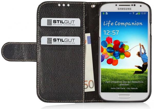 "StilGut - Book Type Case ""Talis"" for Samsung Galaxy S4 i9500 & i9505"