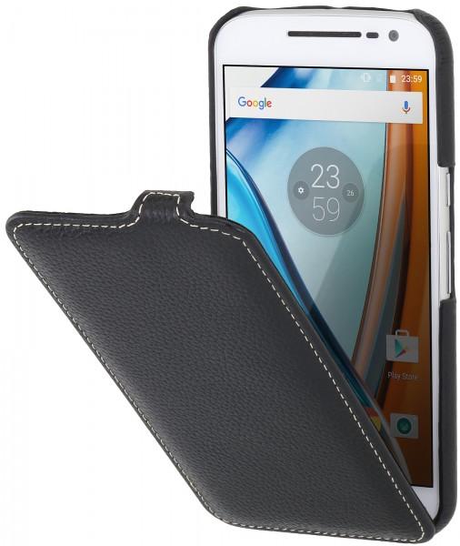 StilGut - Moto G4 case UltraSlim in leather