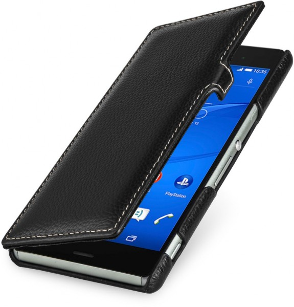 "StilGut - Sony Xperia Z3 case, ""Book Type"" with clip"