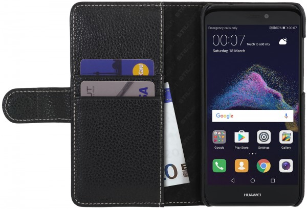 StilGut - Huawei P8 lite 2017 Cover Talis with Card Holder
