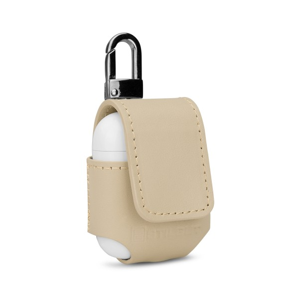 StilGut - AirPods Leather Case with Carabiner