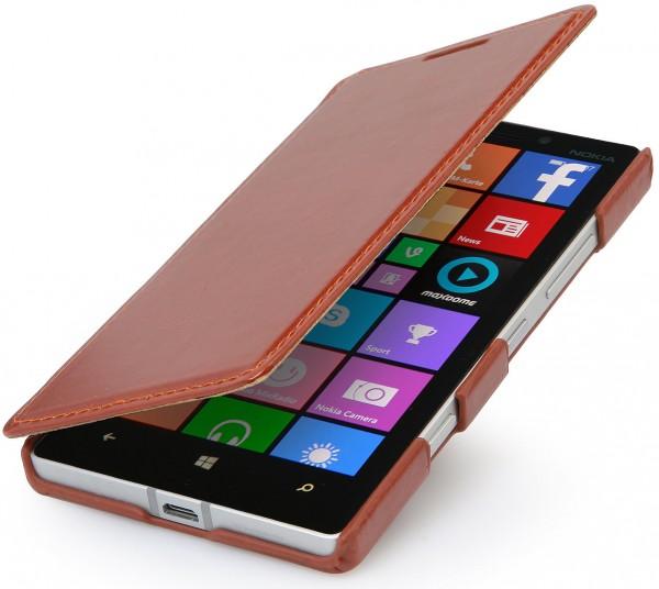 "StilGut - Lumia 930 leather case ""Book Type"" without clip"