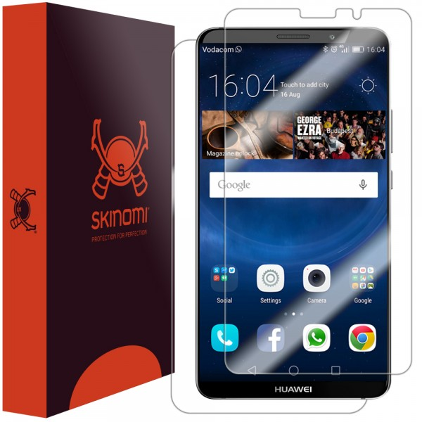 Skinomi - Huawei Mate 10 Pro Screen Protector Front & Back Side