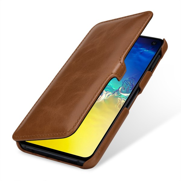 StilGut - Samsung Galaxy S10e Cover Book Type with Clip