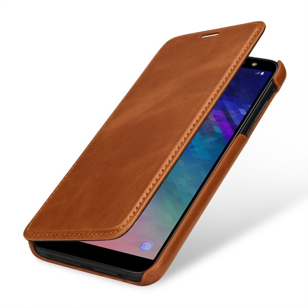 StilGut - Samsung Galaxy A6 (2018) Cover Book Type without Clip