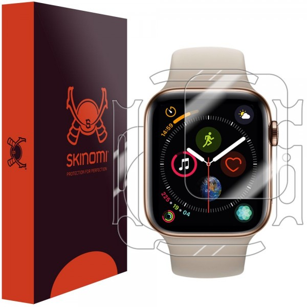 Skinomi - Apple Watch Series 5 (44 mm) Screen Protector Full Body