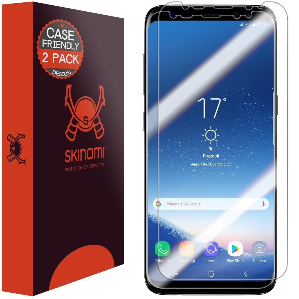 Samsung Galaxy S8 Screen Protector Set Of 2 By Skinomi