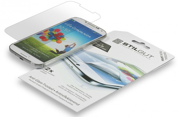 StilGut - 2x Screen protector for Samsung S4 i9500