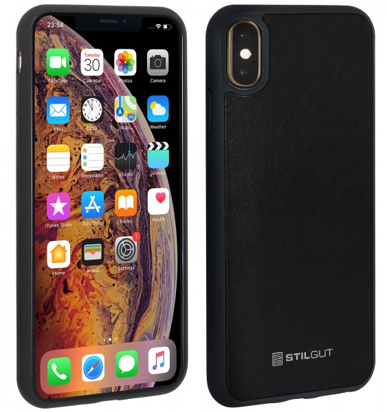 StilGut - iPhone XS Case with Leather