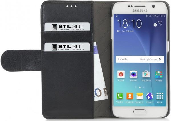 "StilGut - Galaxy S6 case ""Talis"" with strap"