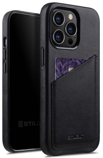 StilGut - iPhone 13 Pro Max Case with Card Holder