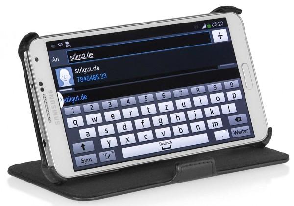 StilGut - UltraSlim Case Stand-up function for Galaxy Note 3 N9005