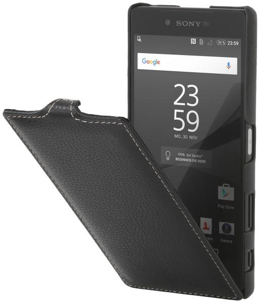 "StilGut - Xperia Z5 Premium leather case ""UltraSlim"""