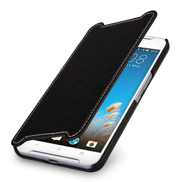 StilGut - HTC One X9 cover Book Type in leather without clip