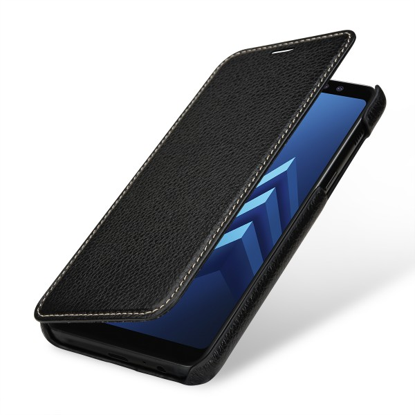 StilGut - Samsung Galaxy A8 (2018) Cover Book Type without Clip