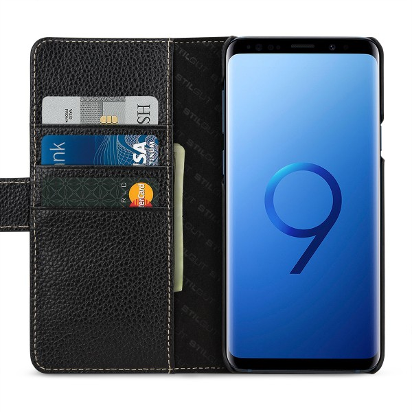 StilGut - Samsung Galaxy S9+ Cover Talis with Card Holder