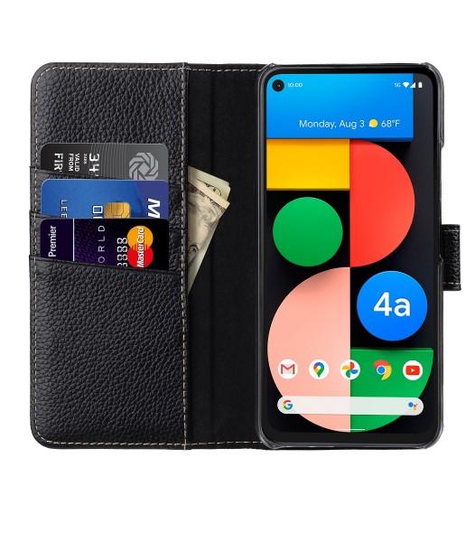 StilGut - Google Pixel 4a 5G Wallet Case Talis