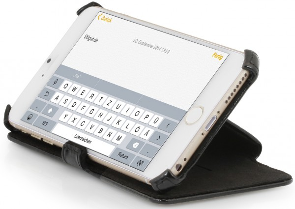 StilGut - UltraSlim case V2 with stand function for iPhone 6 Plus