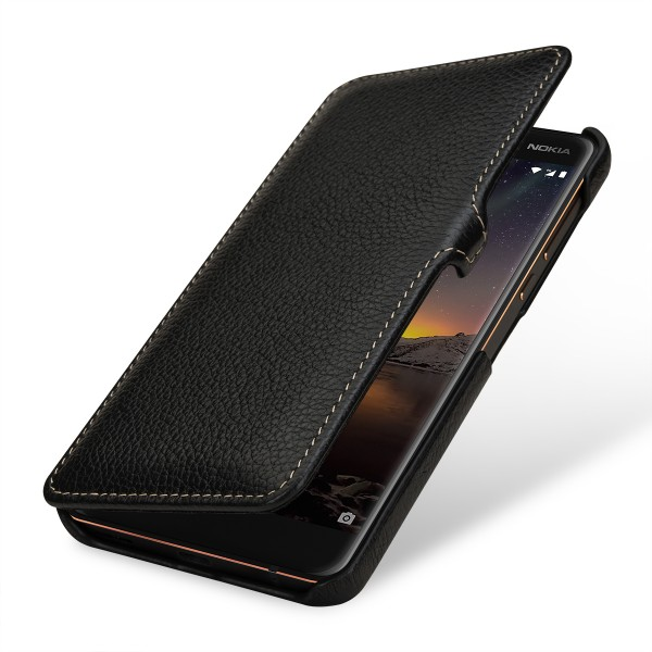 StilGut - Nokia 6.1 Cover Book Type with Clip