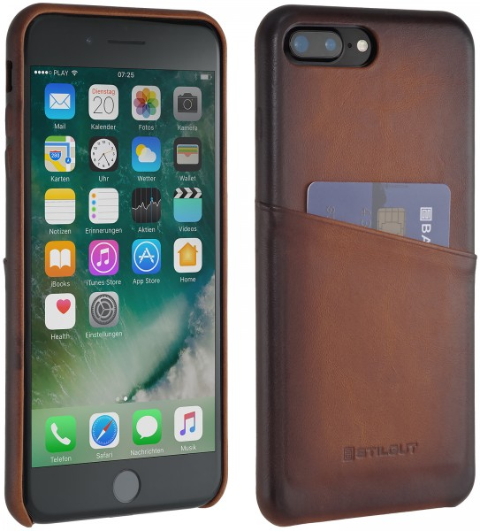 StilGut - iPhone 7 Plus Cover with Card Holder