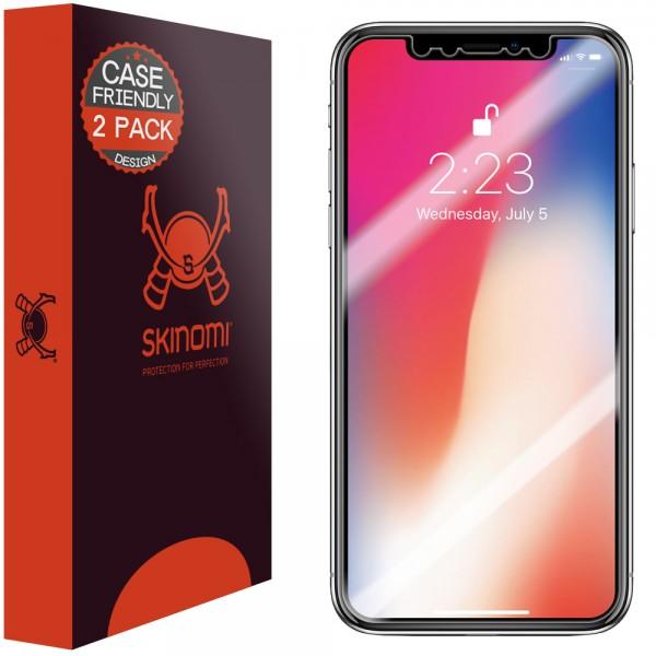 Skinomi - iPhone XS Screen Protector (set of 2)