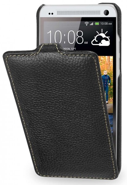 StilGut - UltraSlim case made from leather for HTC One Mini