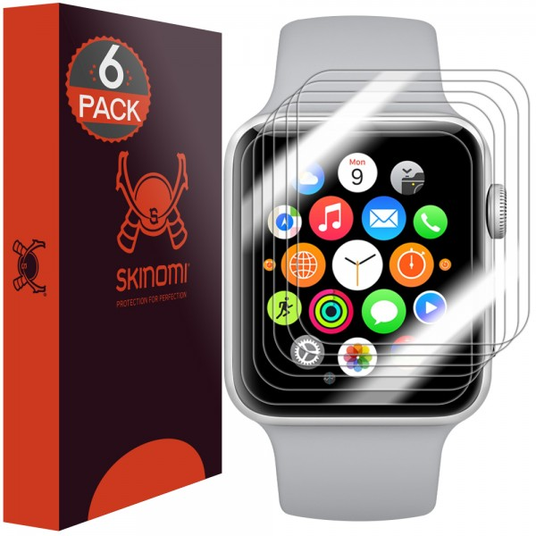 Skinomi - Screen Protector Apple Watch Series 3 (38 mm) set of 6