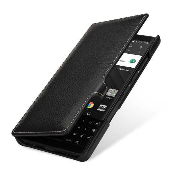 StilGut - BlackBerry KEY2 Cover Book Type with Clip