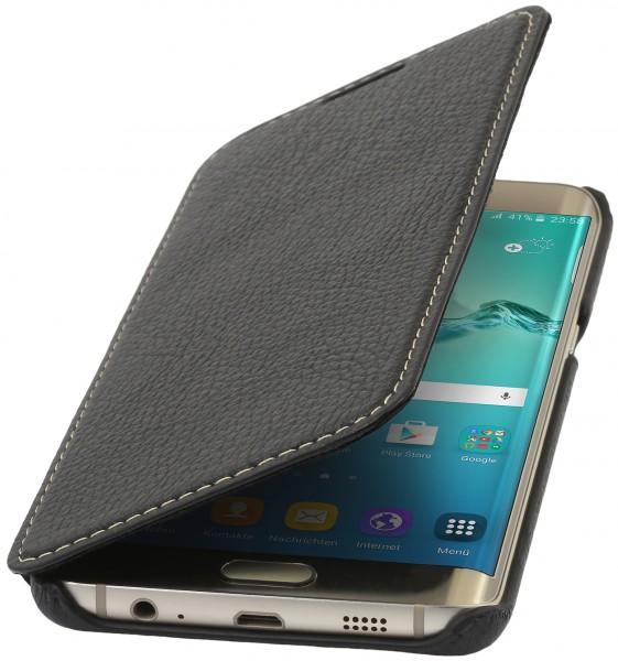 StilGut - Galaxy S6 edge+ leather case Book Type without clip