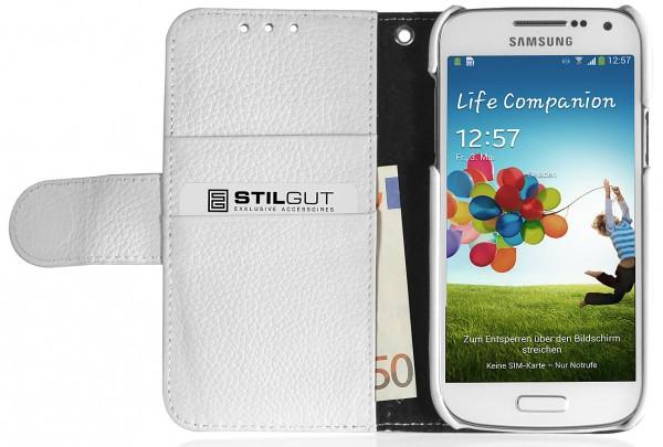 "StilGut - Book Type Case ""Talis"" for Samsung Galaxy S4 Mini i9195"
