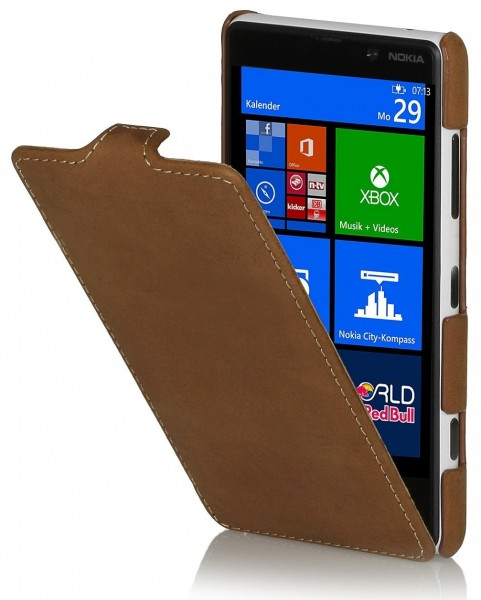 StilGut - UltraSlim case for Nokia Lumia 820 Old Style