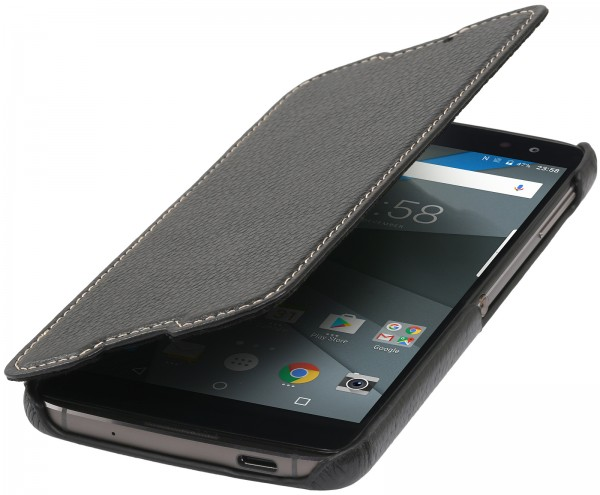 StilGut - BlackBerry DTEK60 Case Book Type without Clip