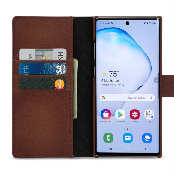 StilGut - Samsung Galaxy Note 10 Plus Cover Talis with Card Holder