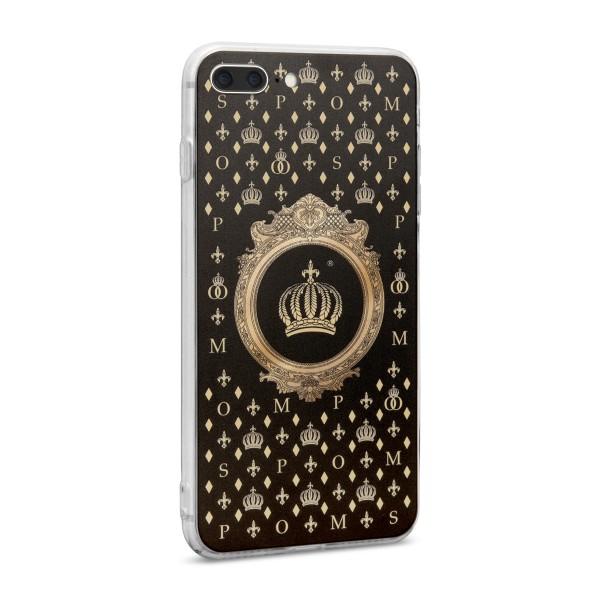 POMPÖÖS by StilGut - iPhone 7 Plus Cover Crown - Design by HARALD GLÖÖCKLER