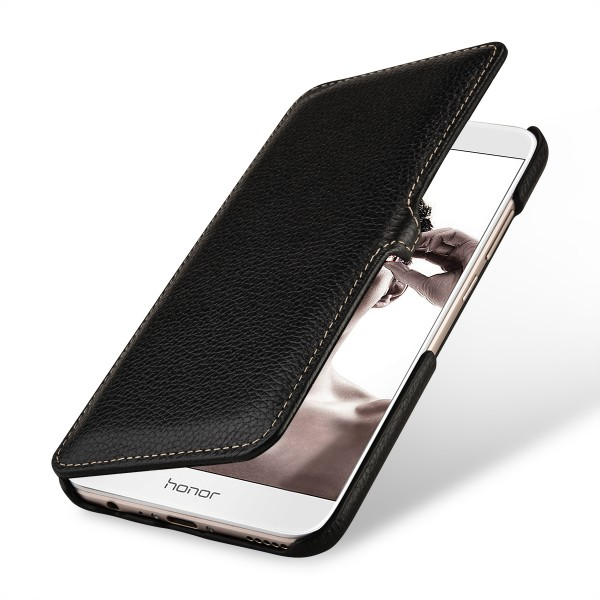 separation shoes 4aab7 ad60e StilGut - Honor 8 Pro Cover Book Type with Clip