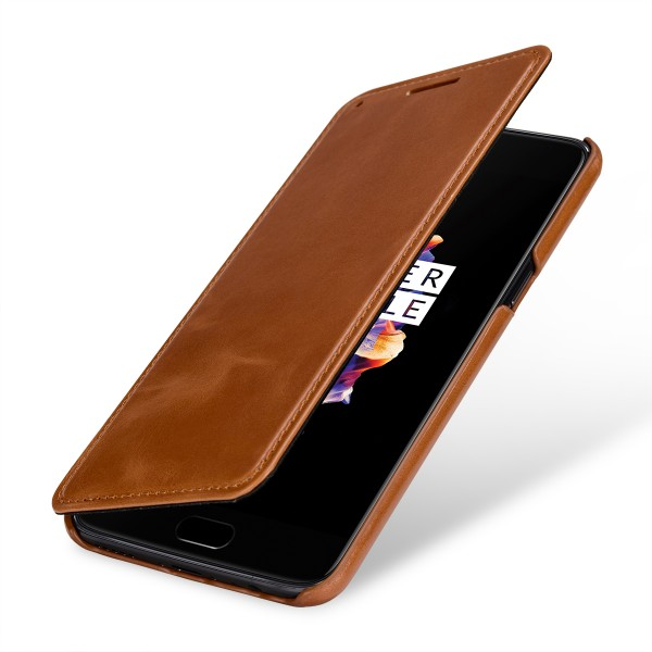 StilGut - OnePlus 5 Cover Book Type without Clip