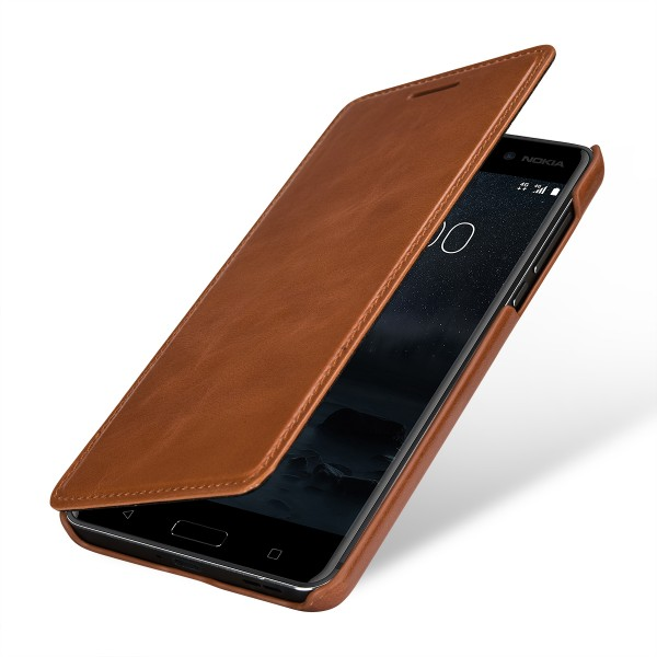 StilGut - Nokia 6 Cover Book Type without Clip