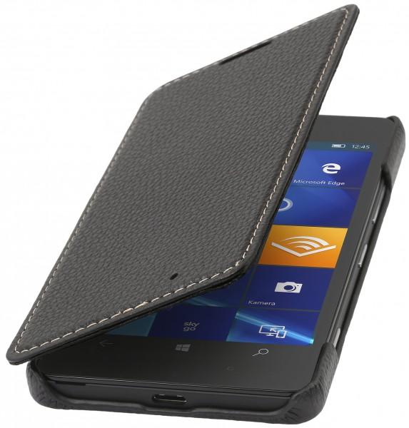 StilGut - Lumia 950 leather case Book Type without clip