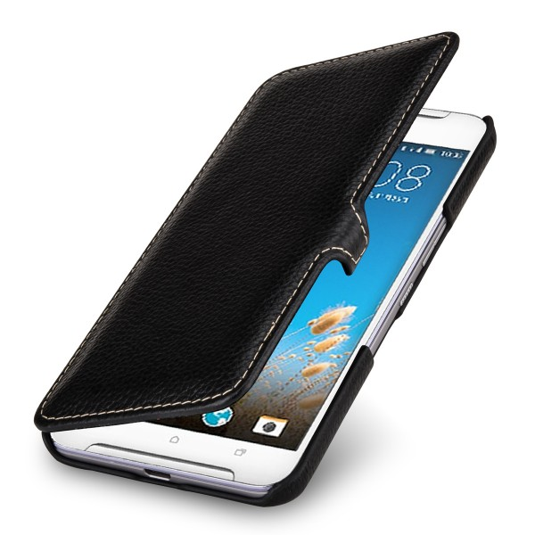 StilGut - HTC One X9 cover Book Type in leather with clip