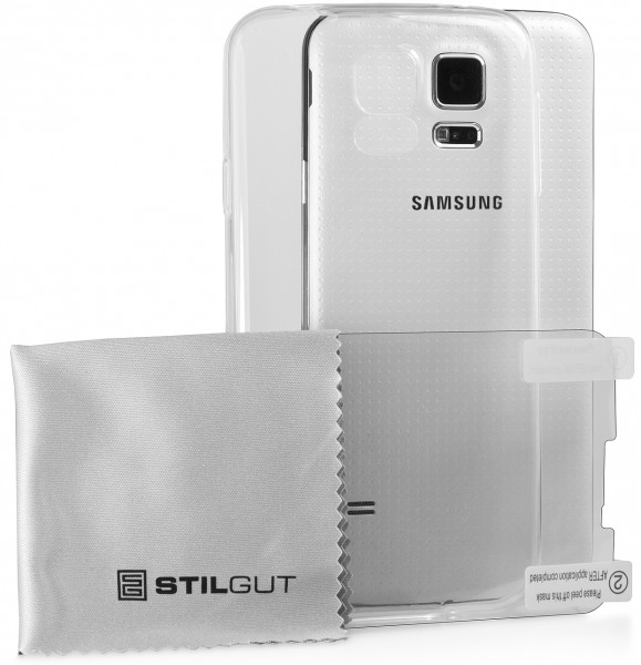StilGut - Ghost, transparent back cover for Samsung Galaxy S5