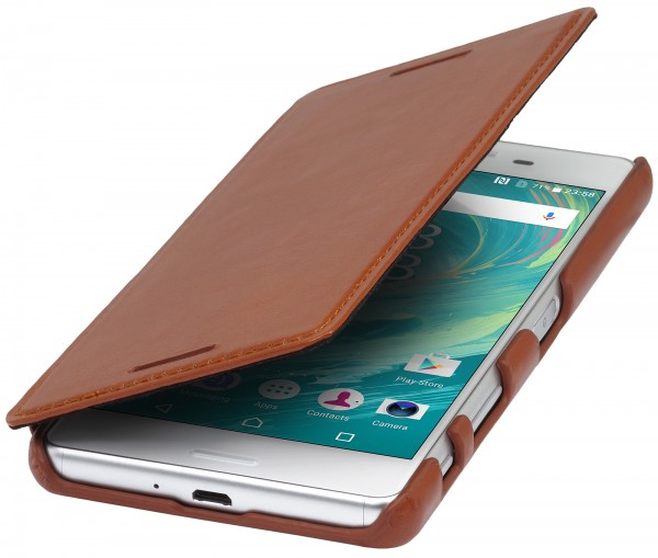 StilGut - Sony Xperia X Performance cover Book Type without clip
