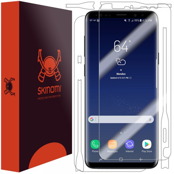 Skinomi - Samsung Galaxy S9 Screen Protector TechSkin Full Body