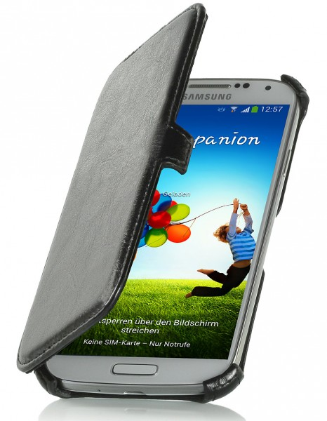 StilGut - Case with card slot for Samsung Galaxy S4 i9500 & i9505