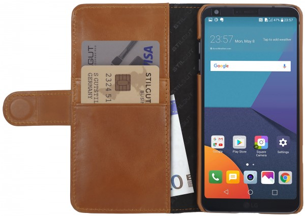 StilGut - LG G6 Cover Talis with Card Holder