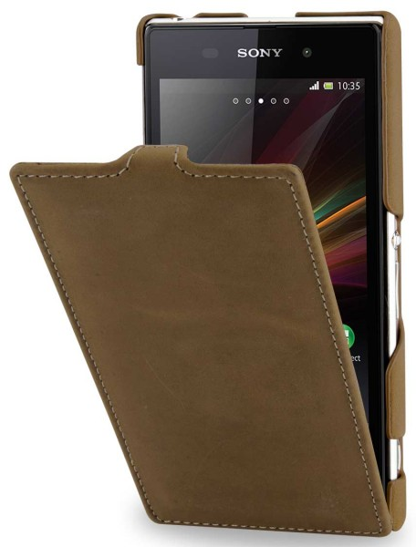 StilGut - UltraSlim Case for Sony Xperia Z1 Old Style