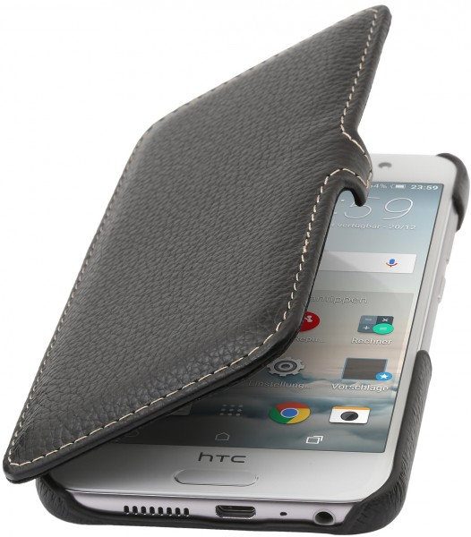 StilGut - HTC One A9 cover Book Type in leather with clip