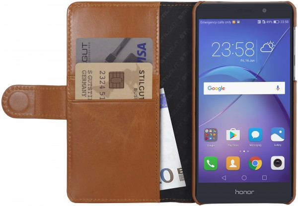StilGut - Honor 6X Cover Talis with Card Holder