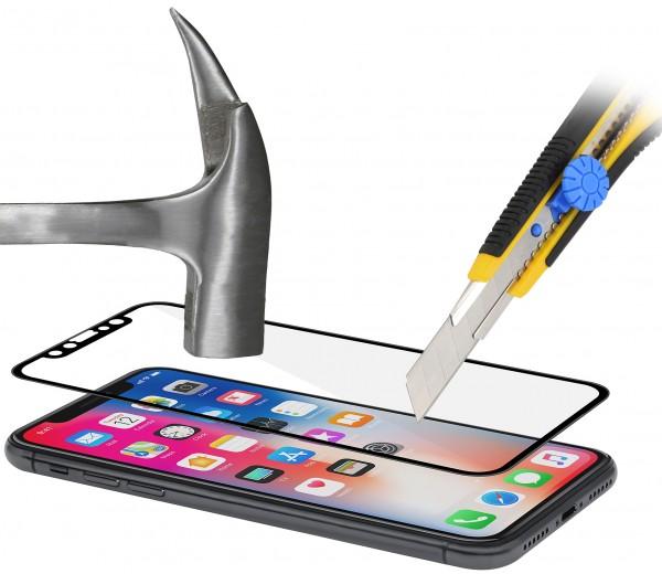 StilGut - iPhone X Tempered Glass with Black Frame (set of 2)